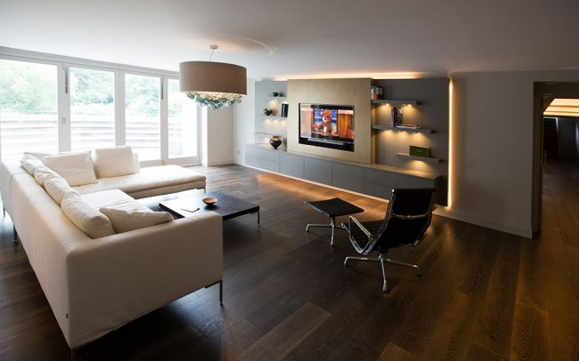 Lutron lighting and Home Cinema