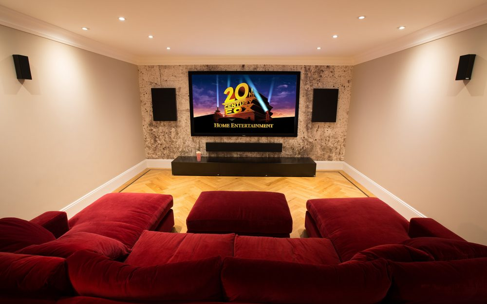Home Cinema Installation and Media Rooms