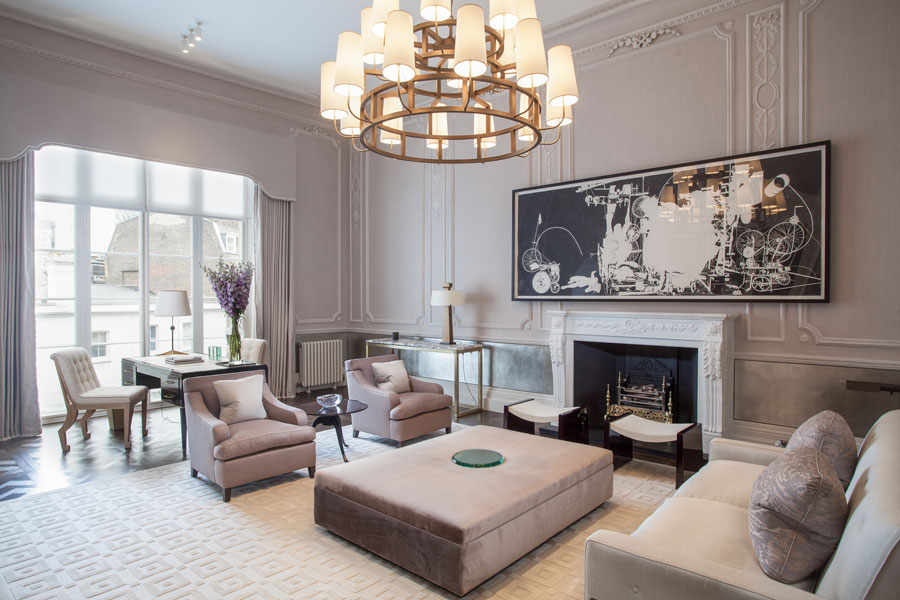 Lounge in Town House, Central London