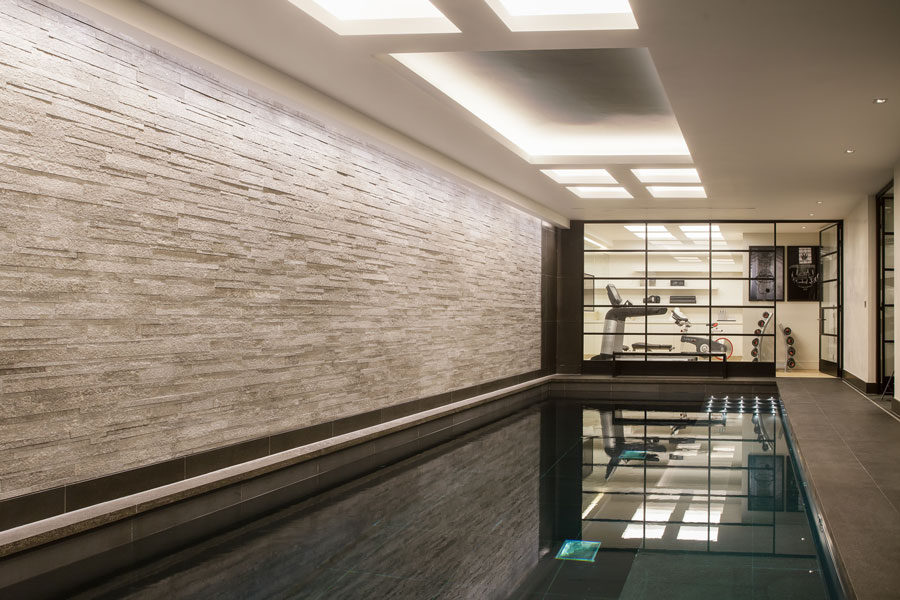 Pool in Town House, Central London