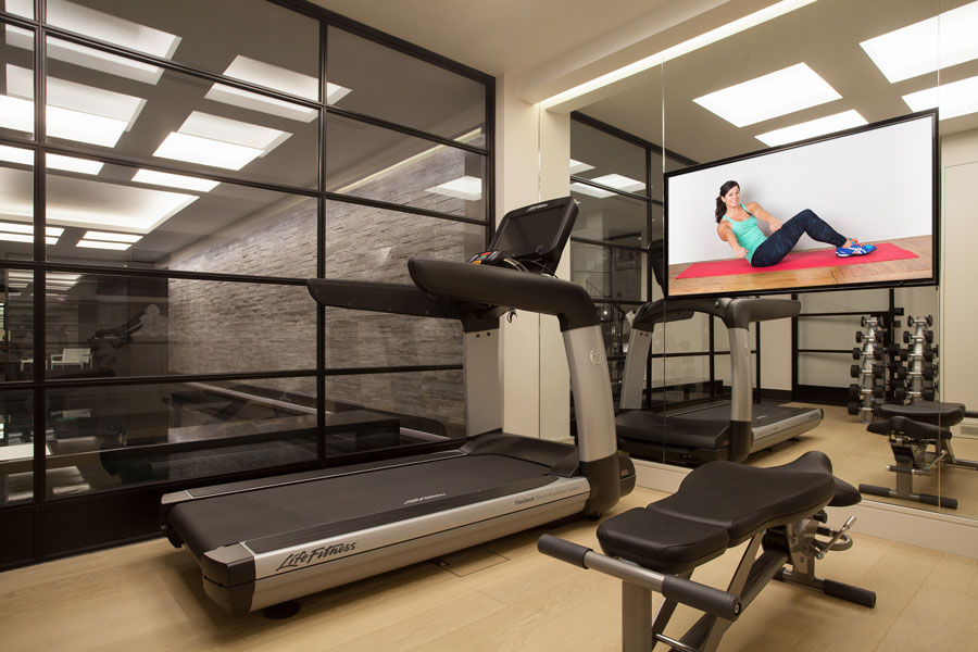 gym in Town House, Central London