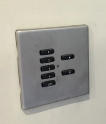 Rako lighting control keypad