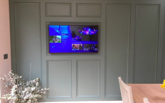Samsung Frame TV home automation