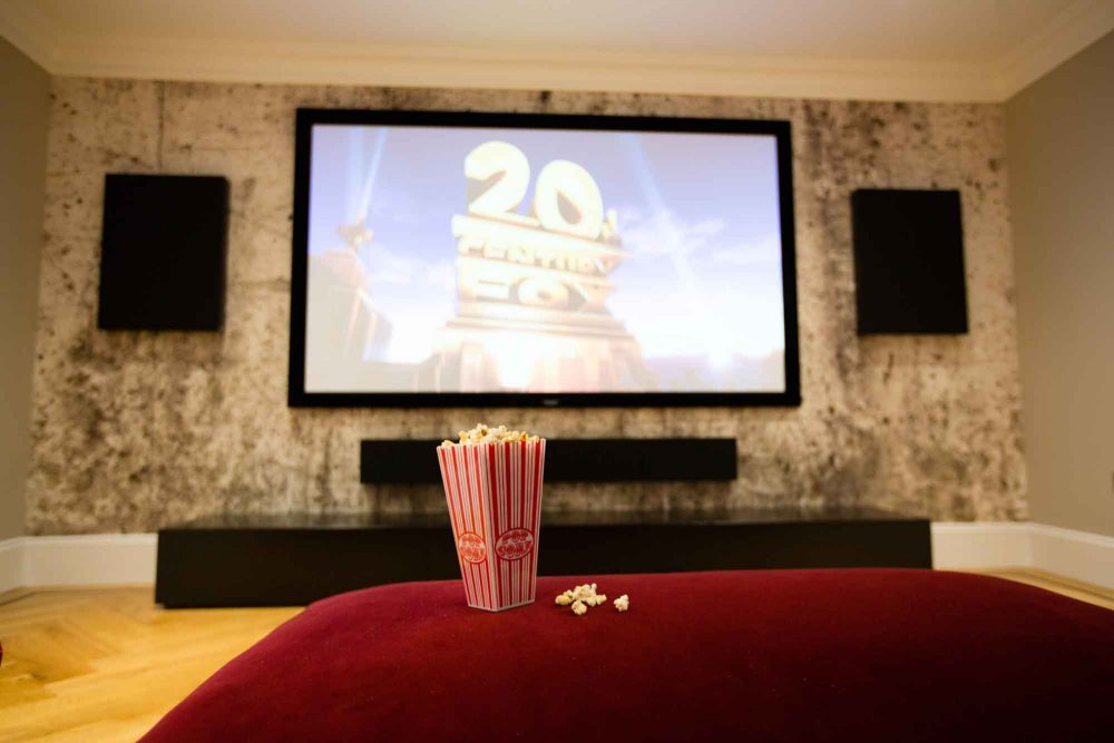 small home cinema room